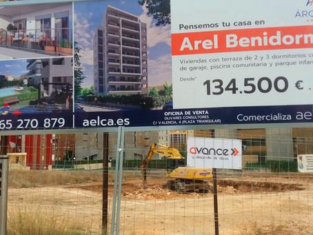 Nuevo edificio residencial en Benidorm