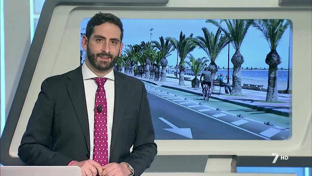 7TV informa de nuestros trabajos de mejora en los paseos marítimos de San Pedro del Pinatar