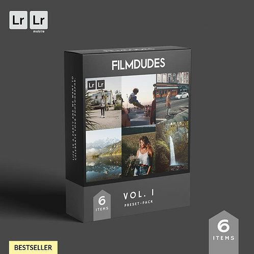 FILMDUDES Preset-Pack | VOL. I (Lightroom Desktop & Mobile)
