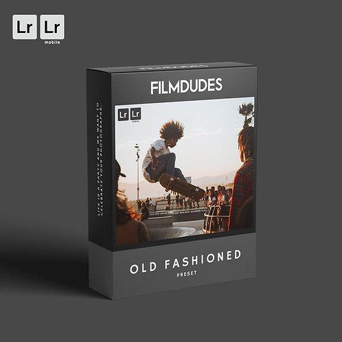 FILMDUDES Preset | OLD FASHIONED (Lightroom Desktop & Mobile)