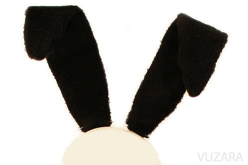 Bendable Black Bunny Ears