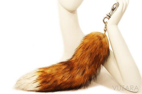 Faux Brown Fox Tug Tail