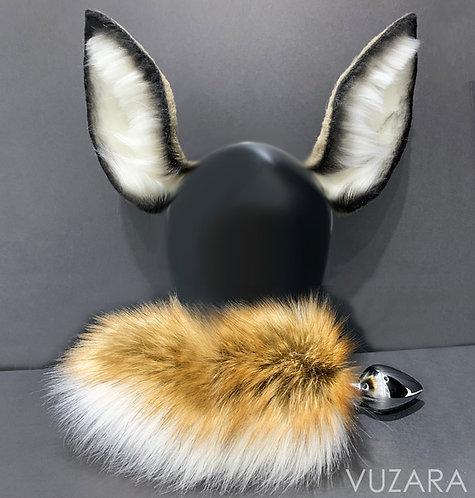 Deer Tail & Wired Ears Set