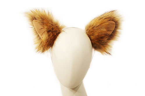 Faux Red Fox Ears
