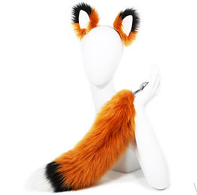 Fox Tail Butt Plug Anal Sex Toy