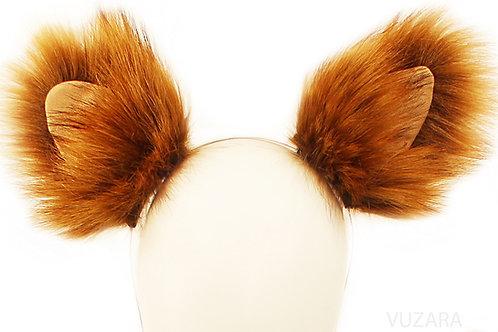 Faux Red Fox Ears