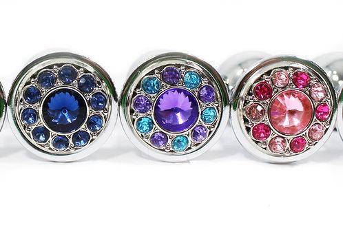 Flower Jeweled Plugs