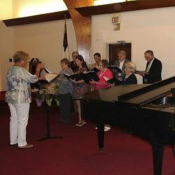 Jesup Presyberian Church choir