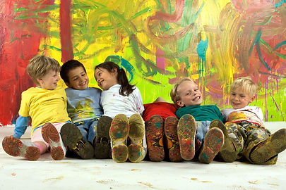 Little dirty smiling painters.jpg