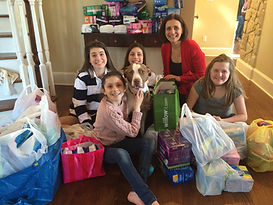 A big donation after a family's party to help GHGP