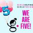 We're FIVE!