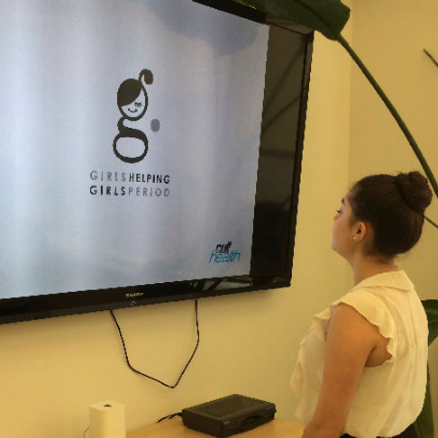 Emma Joy, co-founder of GHGP at Cult Health to review their logo design