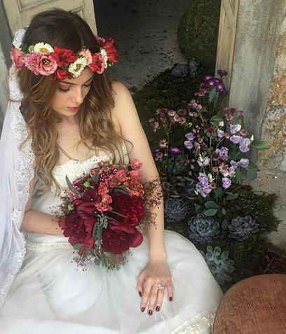 Stunning Boho Bride Elisabetta