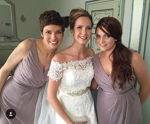 The Beautiful Louise and her Bridesmaids
