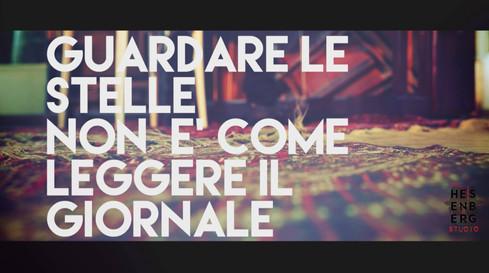 """Videoclip """"Guardare le stelle non è come leggere il giornale"""" - Stefano Vergani"""