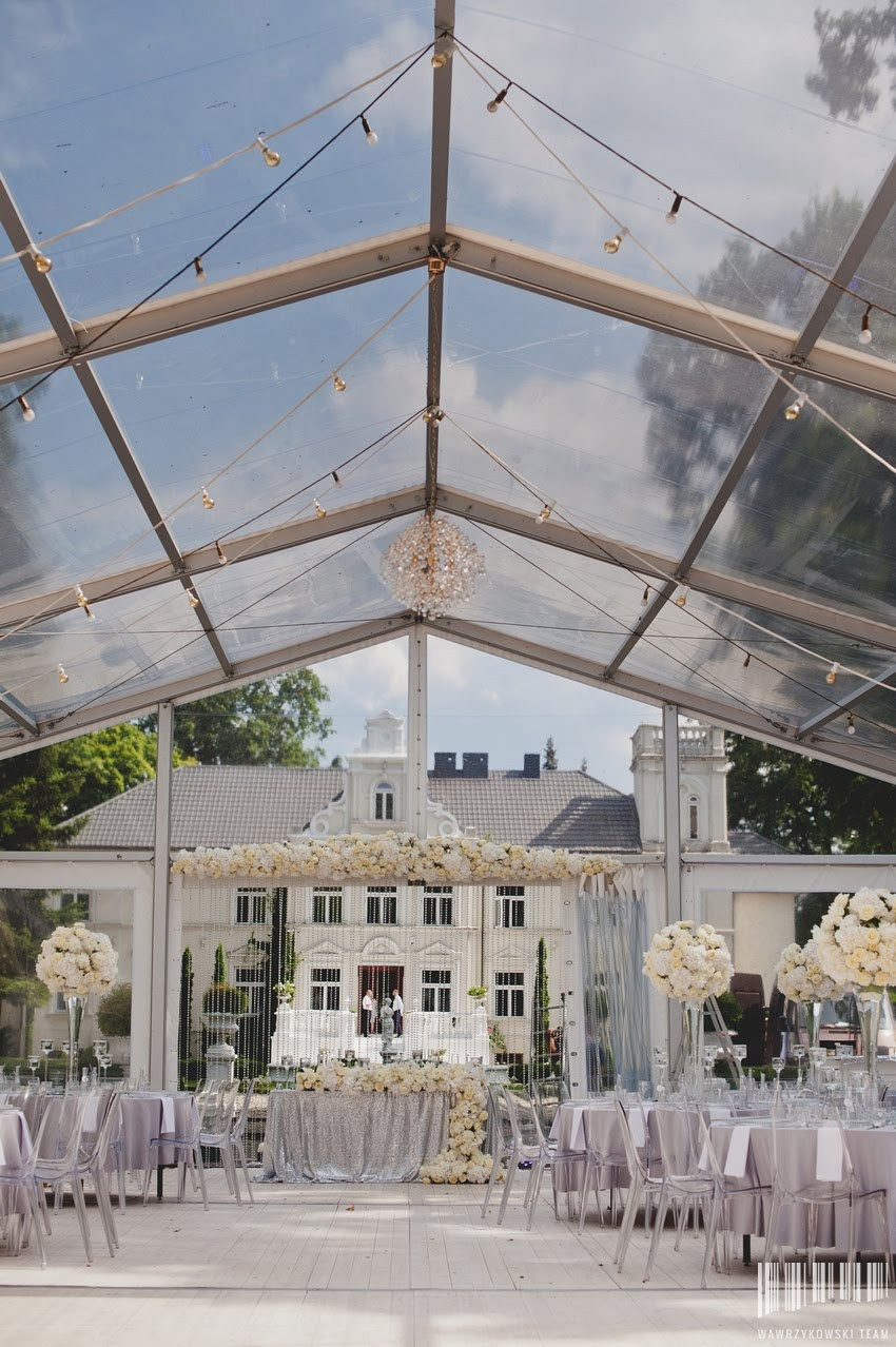 transparentny namiot weselny