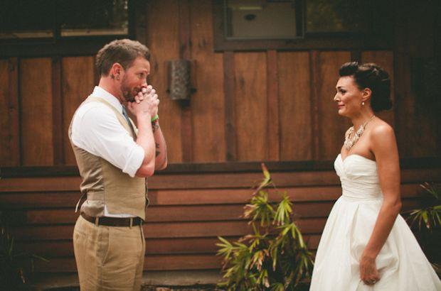 fist look - tradycja ślubna czy przesąd