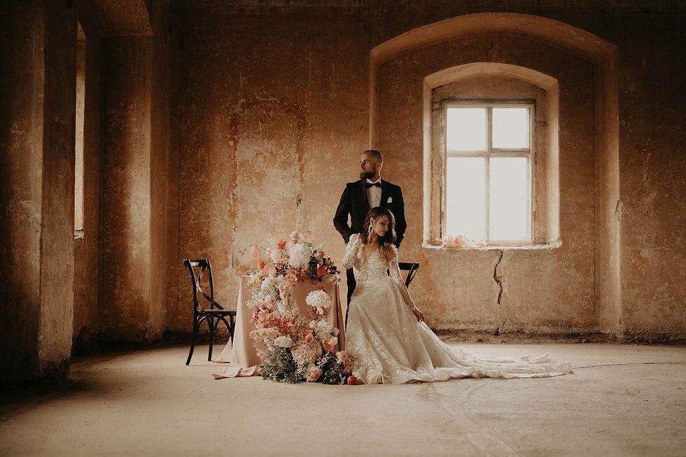 Sesja stylizowana - realizacja Czary Marry wedding planner