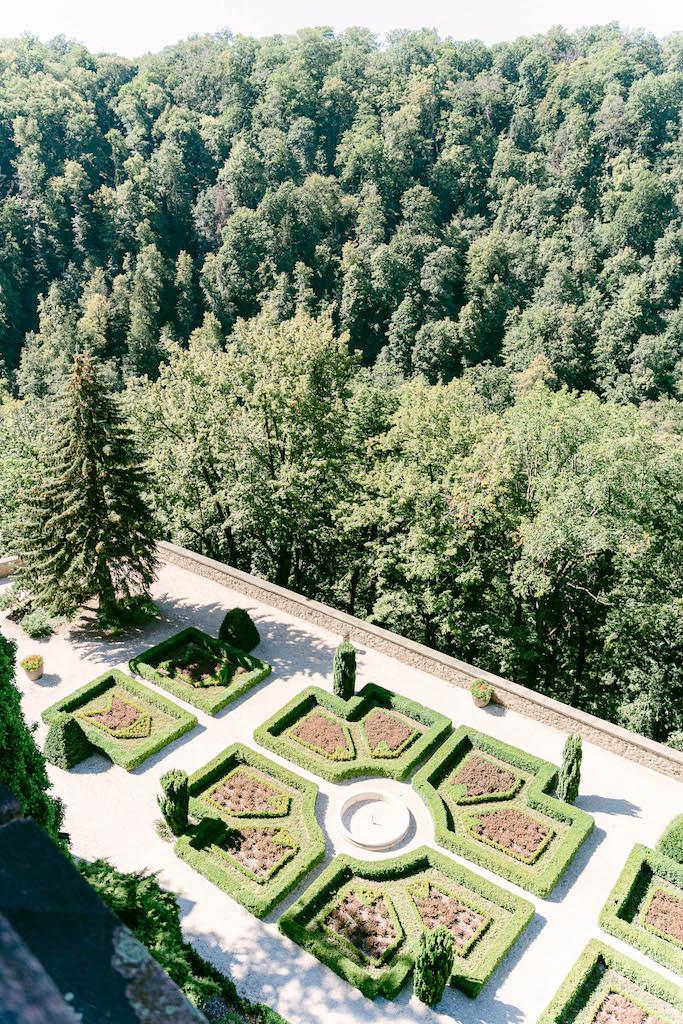 ogrody zamku książ