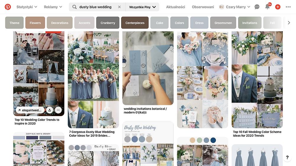 trendy ślubne 2020/2021 dekoracje na Pinterest