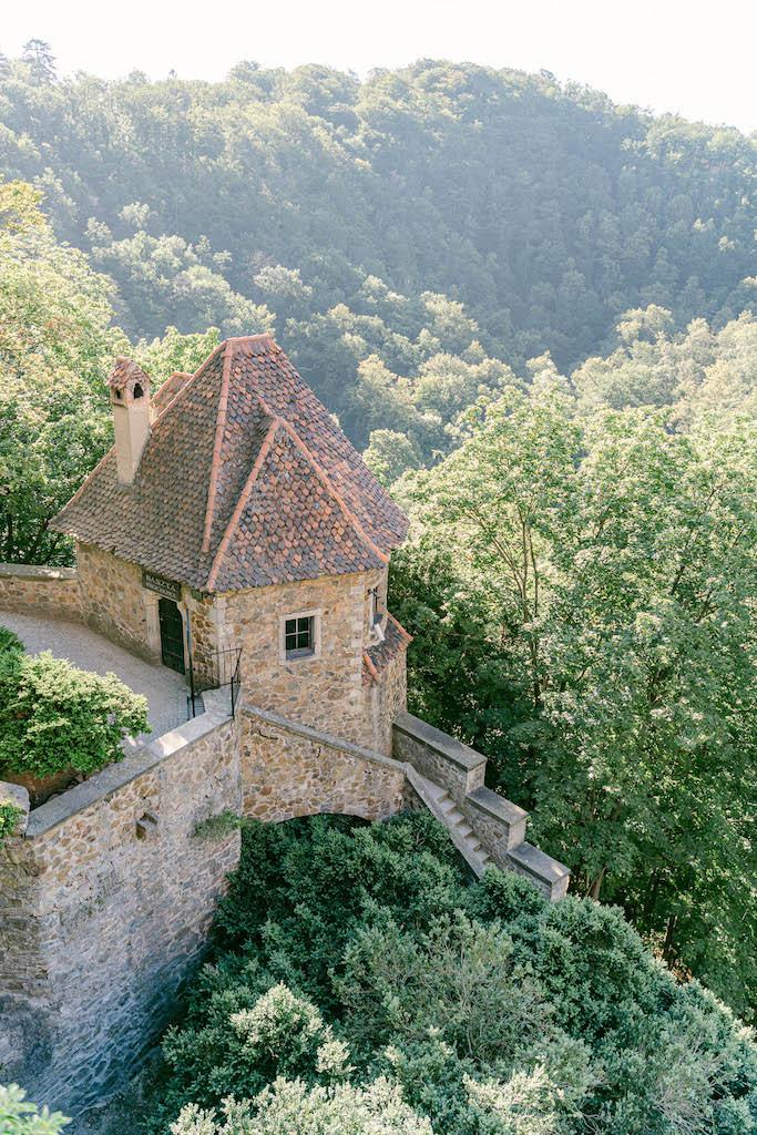 mury zamku książ