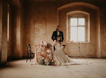 Sesja stylizowana - Ślub, którego nie było.