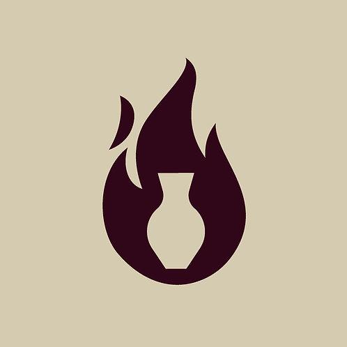 Kiln-Firing: One Shelf