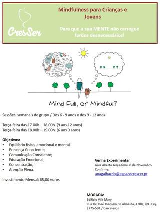 Mindfulness para Crianças e Jovens