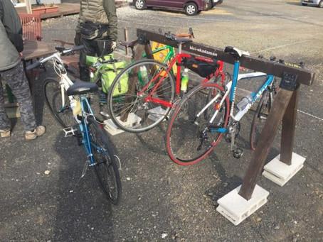 bici-okadamanに集まるサイクリンググループ