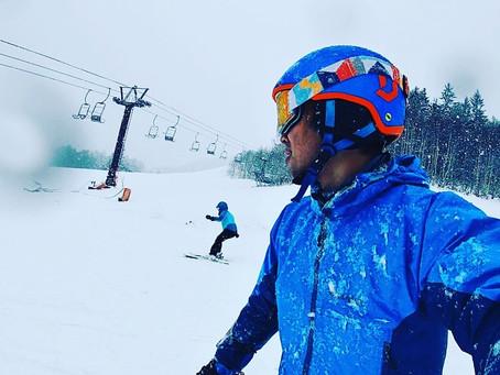 正月休みはスキーでした。
