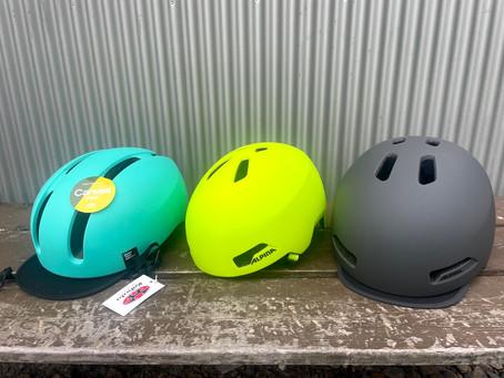 カジュアル系自転車ヘルメット