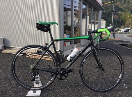 2018/12/11 ロードバイクのワイドタイヤ(28C化)