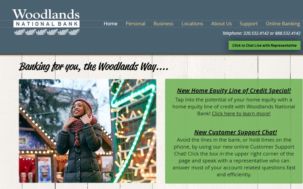Home | Woodlands National Bank | Greater Minnesota
