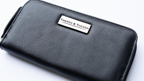 The Black Ladies Zip Wallet