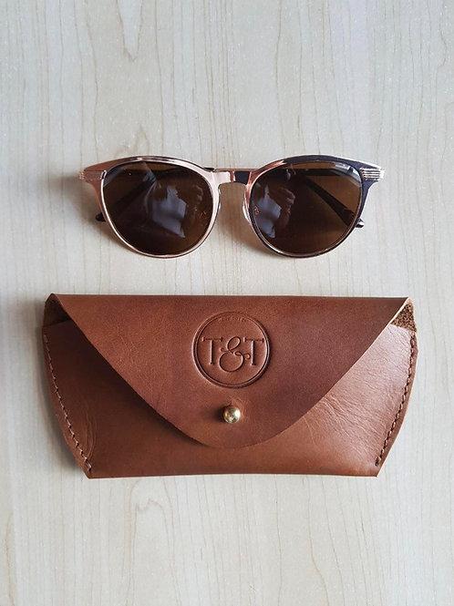 Leather Sunglass Case