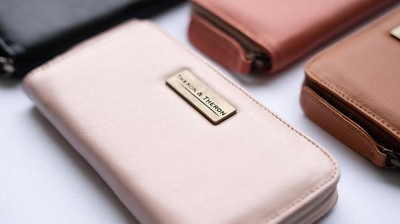 The Light Pink Ladies Zip Wallet
