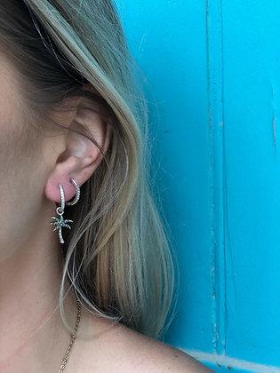 Boucles d'oreilles PALM TREE