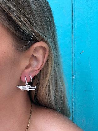 Boucles d'oreilles CROCO