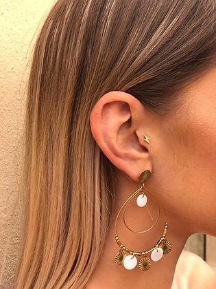 Boucles d'oreilles ELISA