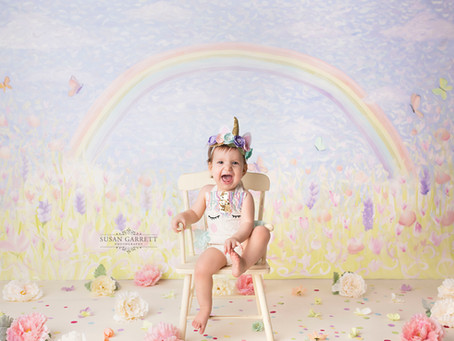Selah MiAlma | Unicorn Cake Smash