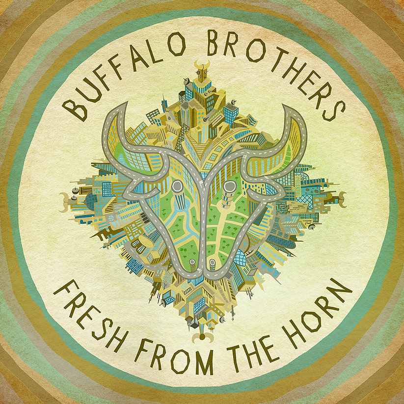 Alistair Williams Illustrator Illustration Buffalo Brothers