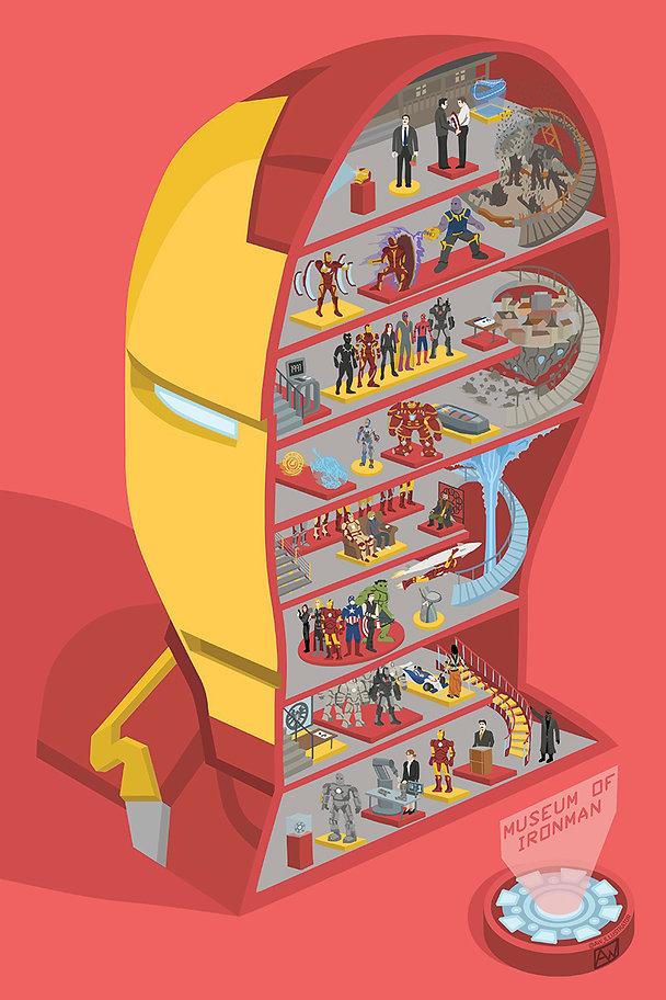 ironman alistair wiliams art illustration