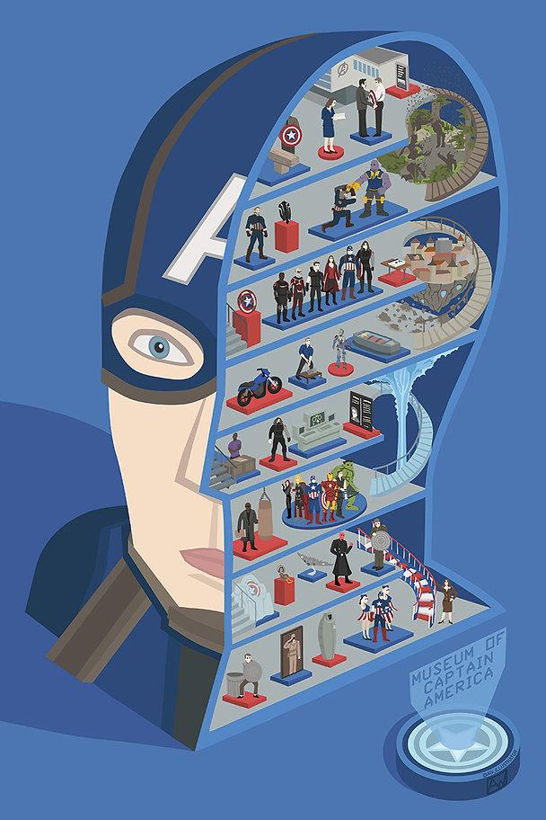 Captain America Alistair Williams Art Illustration