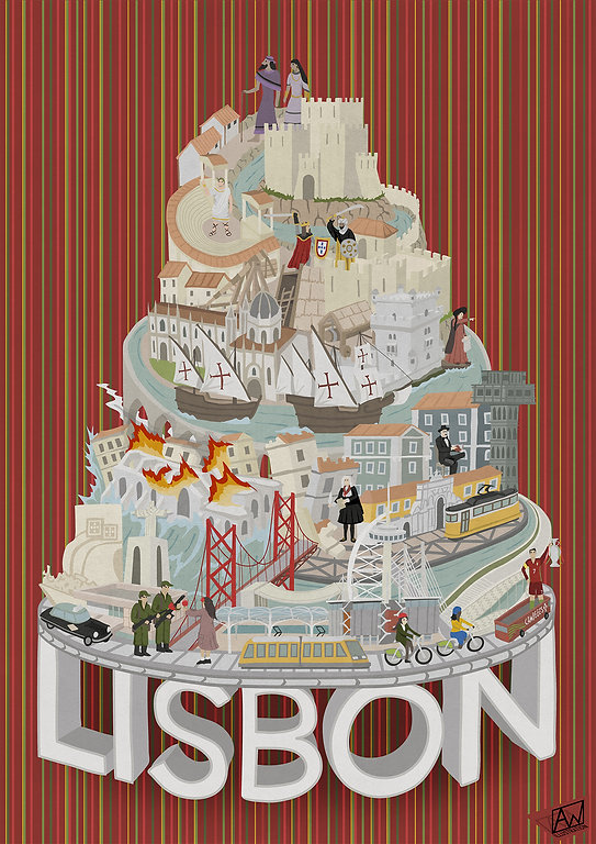 Alistair Williams Illustrator Illustration Lisbon City