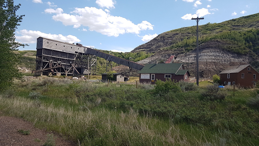 Atlas Coal Mine, Drumheller Alberta, Canada
