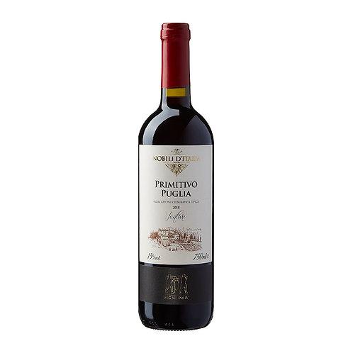 Vinho Tinto Nobili D'italia Primitivo  Puglia