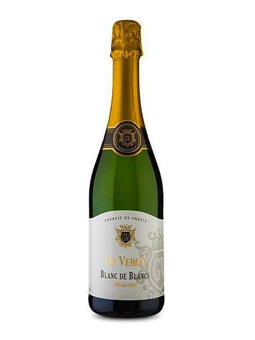 Vinho Espumante De Vergy Blanc de Blancs Demi-Sec