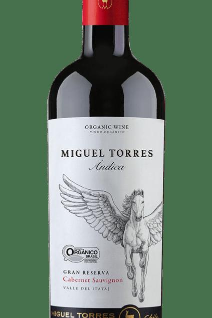 Vinho Tinto Organico Miguel Torres Andica Cabernet Sauvignon