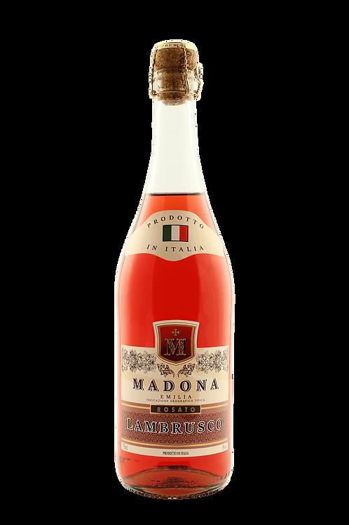 Vinho Lambrusco Rose Madona Emilia  750 ML