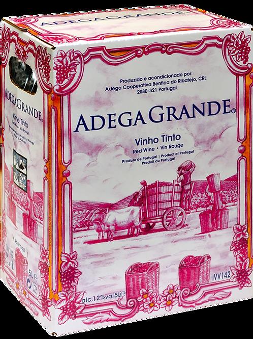 Vinho Adega Grande Tinto Bag in Box – 5 Litros